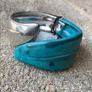 Robert Lee Morris Hinge Cuff Bracelet